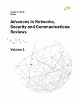 'advances in Networks, Security and Communications, Vol. 1 (Paperback)