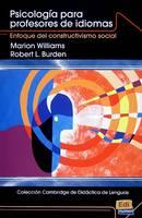 Psicologia para Profesores de Idiomas: Enfoque del Constructivismo Social (Paperback)