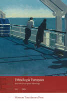 Ethnologia Europaea: 1 Volume 38: Journal of European Ethnology (Paperback)