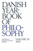 Danish Yearbook of Philosophy: Volume 38 (Paperback)