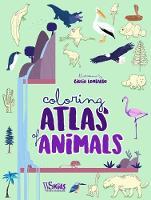 Colouring: Atlas of Animals (Hardback)