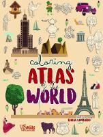 Colouring: Atlas of the World (Hardback)