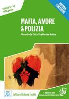 Italiano facile: Mafia, amore & polizia. Libro + online MP3 audio (Paperback)