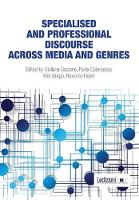 Specialised and Professional Discourse Across Media and Genres (Paperback)