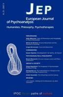 JEP European Journal of Psychoanalysis 25 (Paperback)