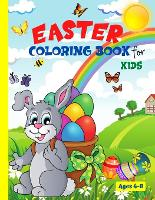 Easter Coloring Book For Kids Ages 4-8 (Paperback)