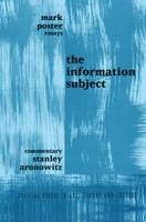 Information Subject - Critical Voices in Art, Theory and Culture (Paperback)