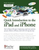 Quick Introduction to the Ipad & Iphone