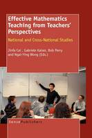 Effective Mathematics Teaching from Teachers' Perspectives: National and Cross-National Studies (Hardback)