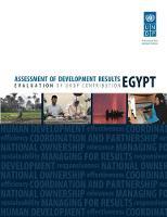Assessment of development results: Egypt (Paperback)