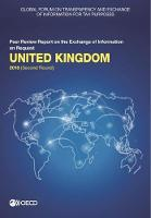 United Kingdom 2018 (second round) - Global Forum on Transparency and Exchange of Information for Tax Purposes peer reviews (Paperback)