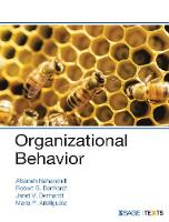 Organizational Behavior (Paperback)