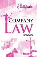 BCOE-108 Company Law (Paperback)
