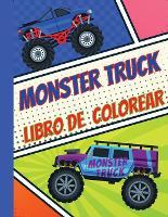 Monster Truck Libro De Colorear