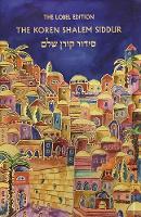 Koren Shalem Siddur with Tabs, Compact, Emanuel (Hardback)