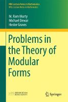 Problems in the Theory of Modular Forms - HBA Lecture Notes in Mathematics (Hardback)