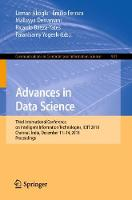 Advances in Data Science: Third International Conference on Intelligent Information Technologies, ICIIT 2018, Chennai, India, December 11-14, 2018, Proceedings - Communications in Computer and Information Science 941 (Paperback)