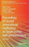 Proceedings of Second International Conference on Smart Energy and Communication: ICSEC 2020 - Algorithms for Intelligent Systems (Hardback)
