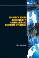 Corporate Social Responsibility, Governance And Corporate Reputation (Hardback)
