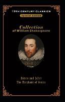 William Shakespeare collection 19 century popular books