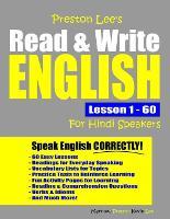 Preston Lee's Read & Write English Lesson 1 - 60 For Hindi Speakers - Preston Lee's English for Hindi Speakers (Paperback)