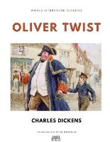 Oliver Twist / Charles Dickens / World Literature Classics / Illustrated with doodles