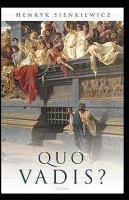 Quo vadis? Annotato (Paperback)