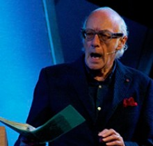 """""""Any retired people in the audience?"""" Roger McGough"""