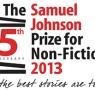 Samuel Johnson Prize 2013 longlist announced