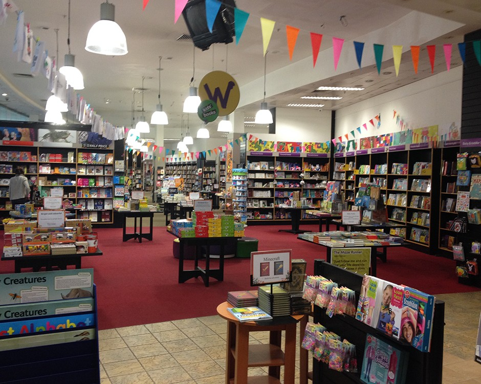 Bookshop In London Finchley Road O2 Centre Waterstones