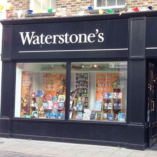 Bookshop In Kings Lynn Waterstones