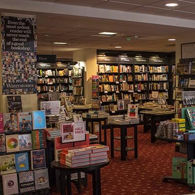 Bookshop In Salisbury Waterstones