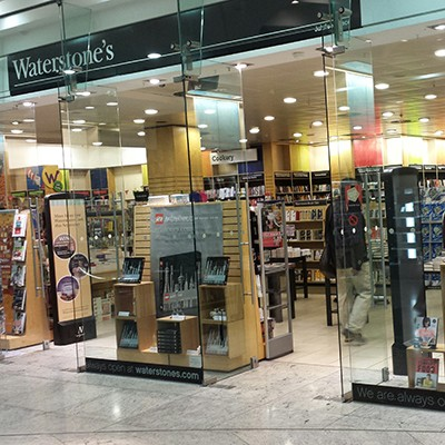 Bookshop In London Canary Wharf Jubilee Place Waterstones