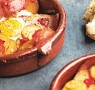 Recipe: Baked Eggs with Ham and Spicy Potatoes
