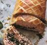 Recipe: Salmon en croute with hollandaise sauce