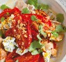 Recipe: Sweet saffron roast tomatoes with labneh salad