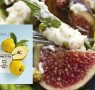 Recipe: Fig, goats' cheese & honey salad