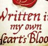 Read Written in My Own Heart's Blood