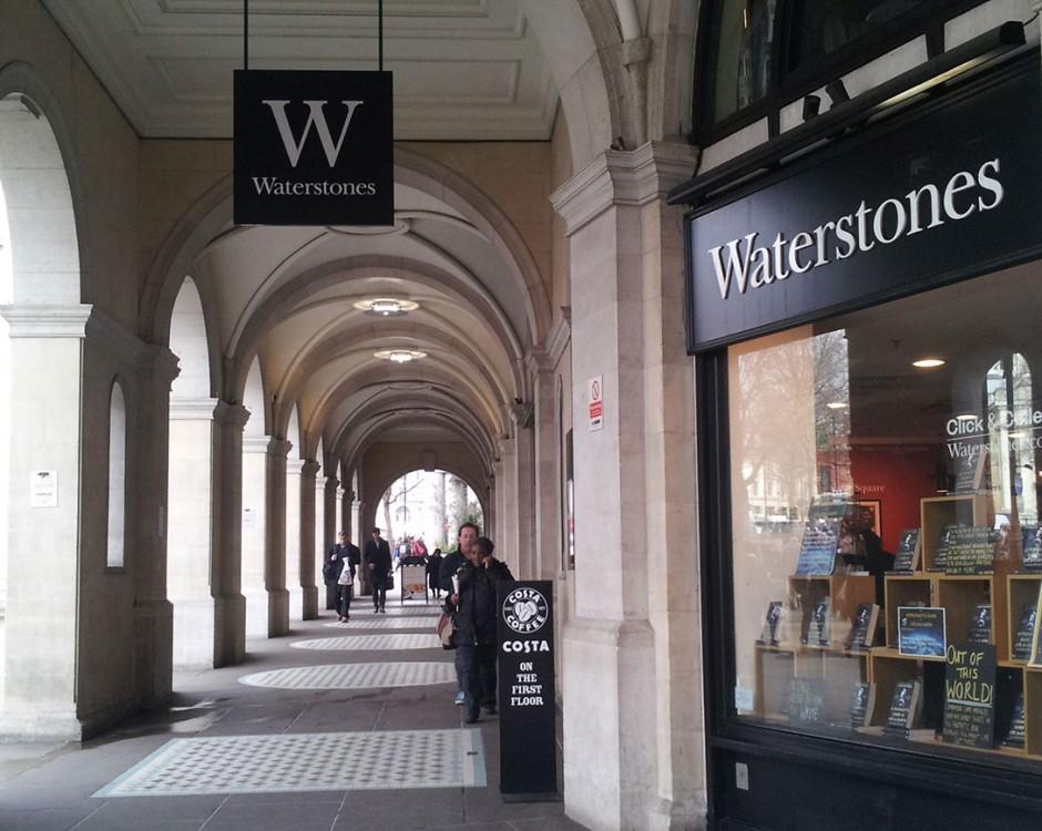 Bookshop In London Trafalgar Square Waterstones