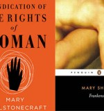 A literary mother and daughter: Mary Wollstonecraft and Mary Shelley