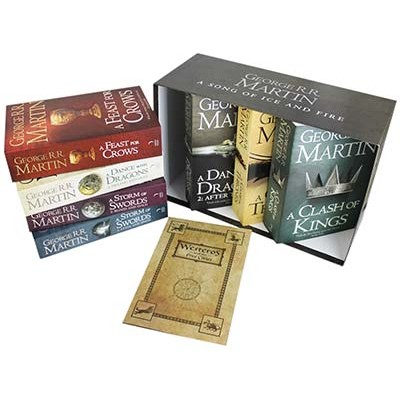 A Game of Thrones: The Story Continues: The Complete Boxset of All 7 Books - A Song of Ice and Fire