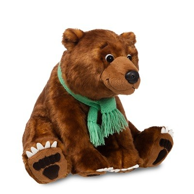 Large Bear Plush: We're Going on a Bear Hunt