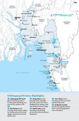 Lonely Planet Bangladesh - Travel Guide (Paperback)