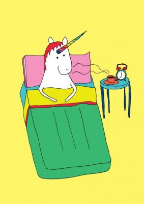 Be a Unicorn: and Live Life on the Bright Side - Be a... (Paperback)