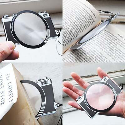 Film Camera Bookmark Magnifier