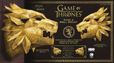 Game of Thrones Mask: House Lannister Lion