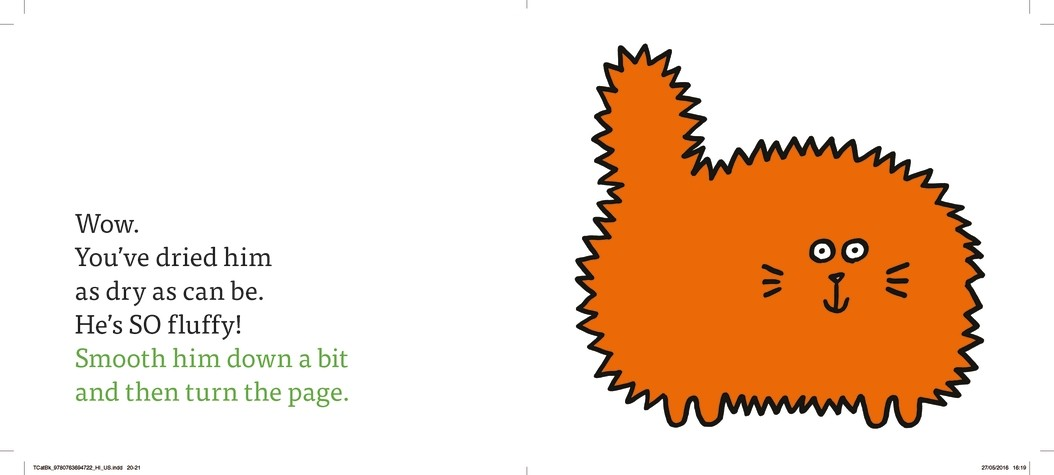 The Cat Book: a minibombo book (Hardback)