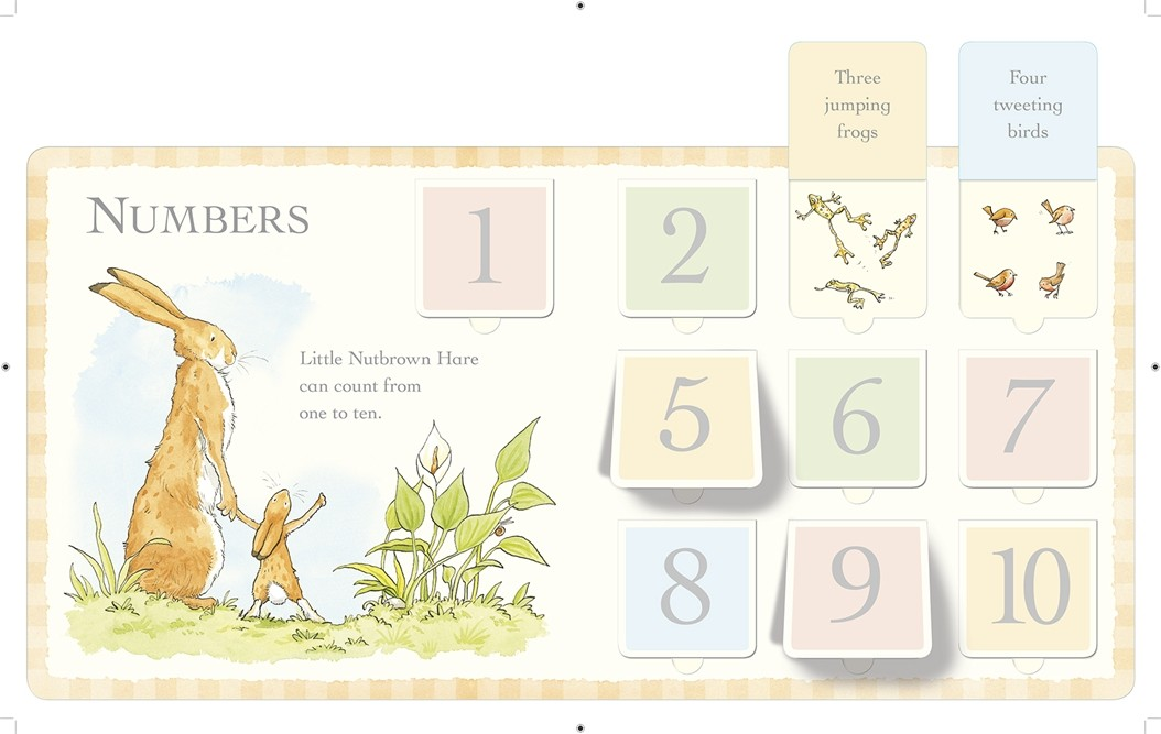 Guess How Much I Love You: Look What I Can Do: First Concepts Book - Guess How Much I Love You (Board book)