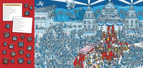 Where's Wally? In Hollywood - Where's Wally? (Hardback)