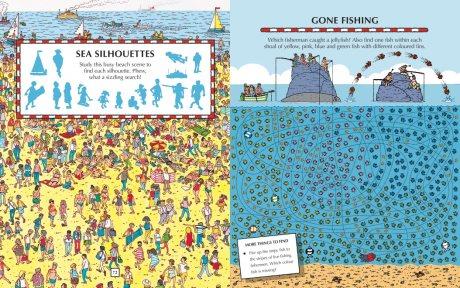 Where's Wally? At Sea: Activity Book - Where's Wally? (Paperback)